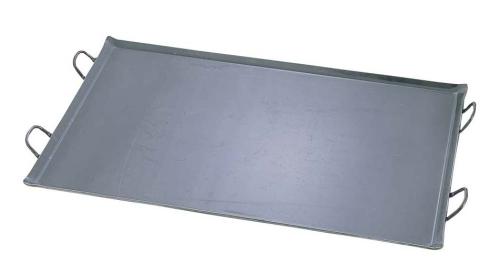 鉄 極厚プレス式 バーベキュー鉄板 大 (GTT3102)