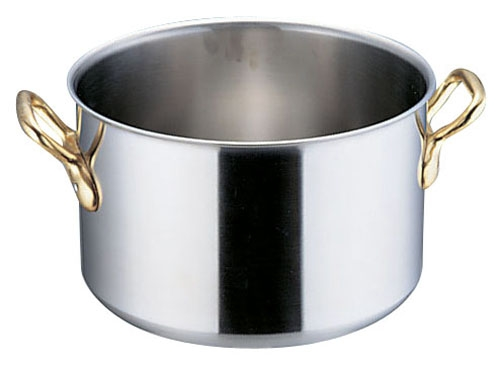 SAスーパーデンジ 半寸胴鍋(蓋無) 36cm (AHV54036)