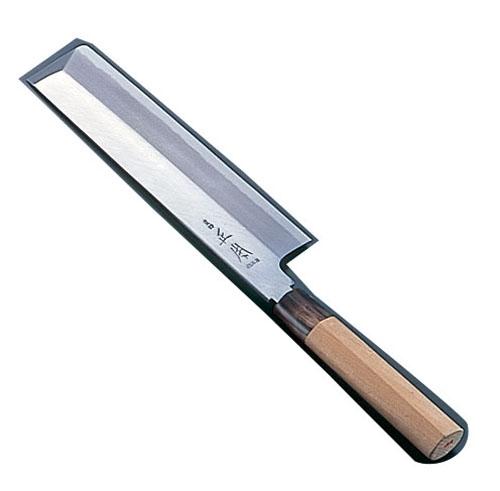 正本 本霞・玉白鋼 東型薄刃庖丁 18cm (AMS43018)