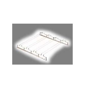 グラスフレーム ダブルエントリー 4連 24金メッキ (PGL6702)