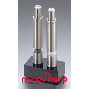 minosharp (minosharp) one hand pepper & salt mill set SP 135W(ebm-1702-2)