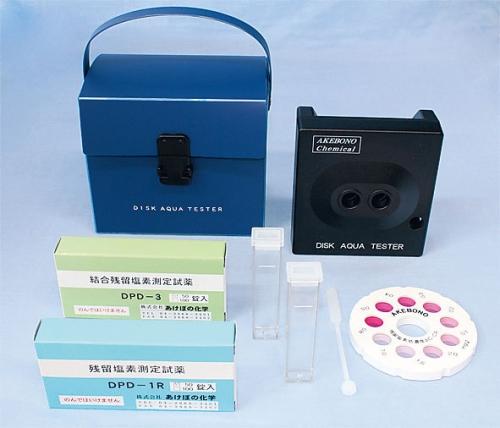 残留塩素低濃度 デスクアクアテスター AC-CA型(DPD法) (BZV2901)