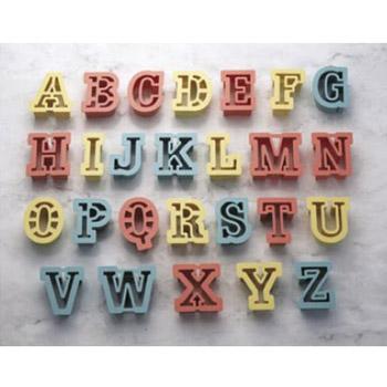 人気上昇中 PC クッキー抜型 アルファベット26P No.1733 ●スーパーSALE● セール期間限定