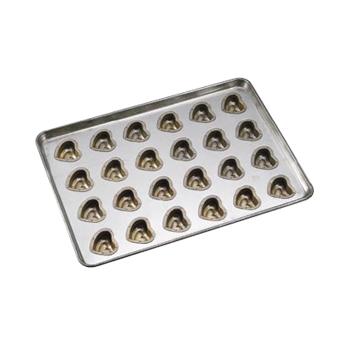 天板 ハート型 シリコン加工 (24ヶ取)