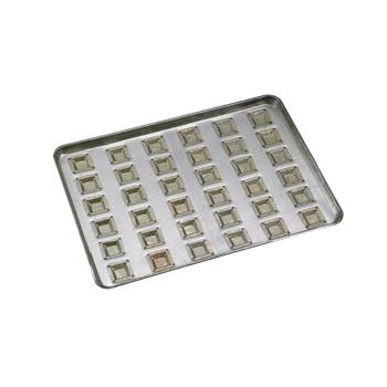 天板 カトラー型 小 シリコン加工(36ヶ取)