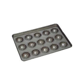 天板 丸わん高型 シリコン加工 8cm (15ヶ取)