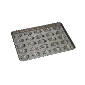 天板 貝型マドレーヌ型 シリコン加工 (25ヶ取)