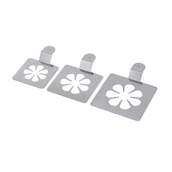 シャブロン ピボンヌ (ボタン) 18-10(ステンレス) デバイヤー 3枚 セット