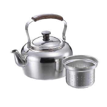 ケットル 麦茶用 バーリー 18-8(ステンレス) PM 5L(リットル)
