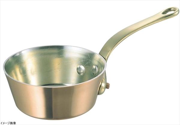 和田助製作所 銅 極厚鍋 テーパー 真鍮柄 18cm 3442-0181