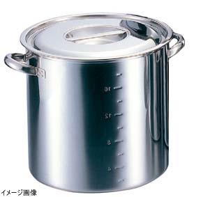 クローバー 電磁モリブデン寸胴鍋 目盛付 39cm AZV6539