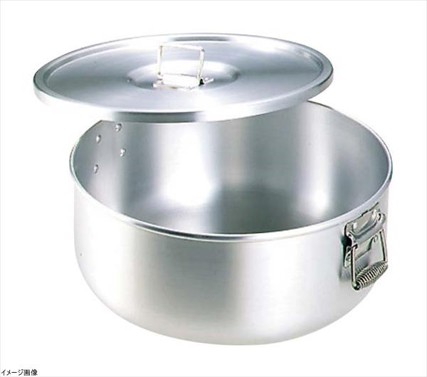 N-82 ガス用丸型炊飯鍋(研磨仕上げ) 12.6L(7.0升用)