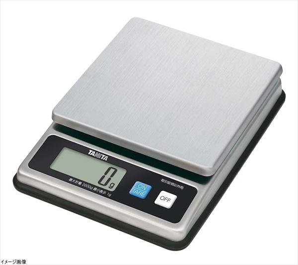 タニタ デジタルスケール(取引証明以外用) 2kg ステンレス KW-1458-SS