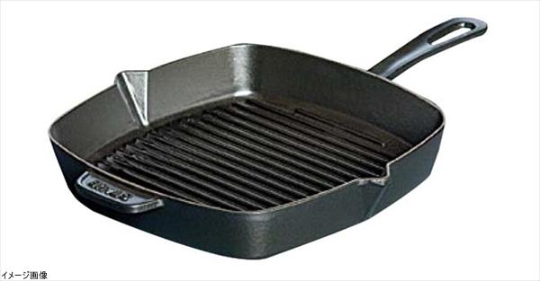 ストウブ 角型アメリカングリル X.O. 40509-521 30cm <黒>