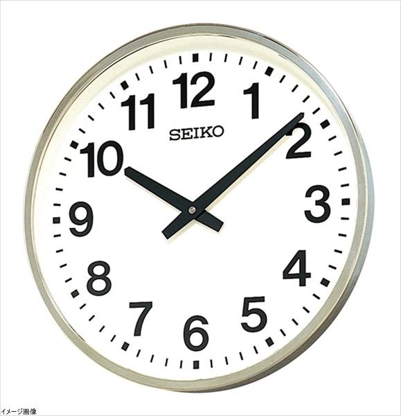 最安価格 セイコー クロック 掛け時計 アナログ 屋外 防雨型 オフィスタイプ 防雨型 金属枠 金属枠 KH411S 掛け時計 SEIKO, 古座川町:9f71858a --- totem-info.com