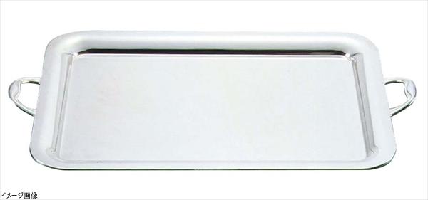 UK18-8プレーンタイプ角盆18インチ(手付) (NKK03018)