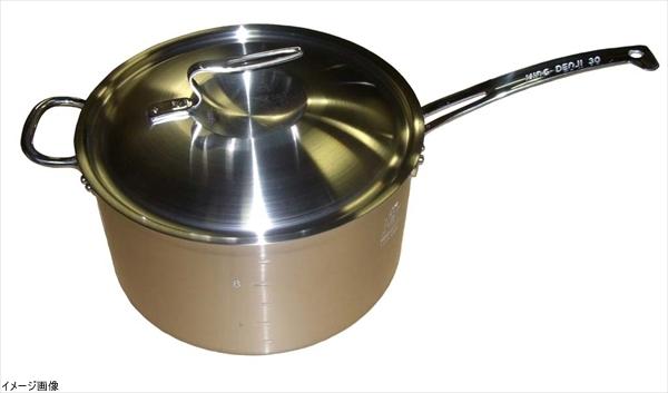 ニューキングデンジ 深型片手鍋(目盛付)30cm