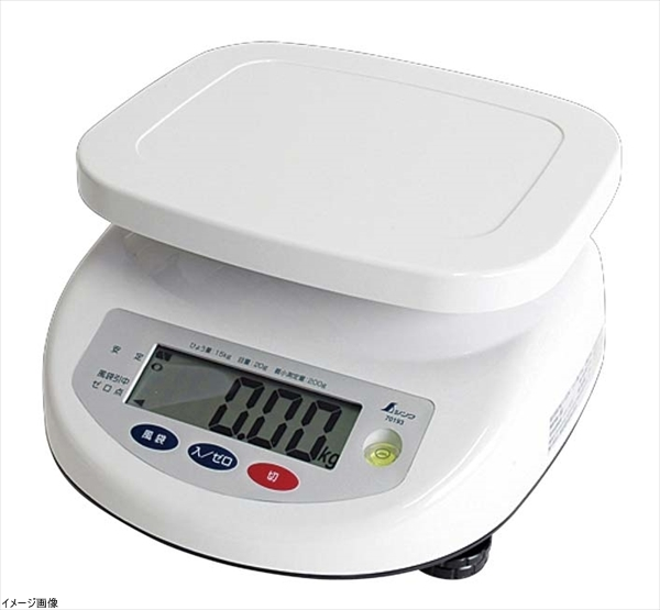 シンワ測定 デジタル上皿はかり 取引証明用 3kg 70191