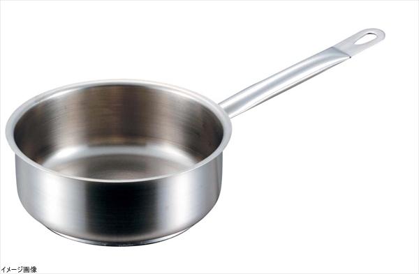 PADERNO(パデルノ) ステンレス 片手浅型鍋 (蓋無) 28cm 1008-28