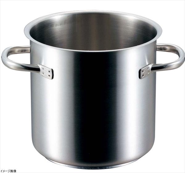 PADERNO(パデルノ) ステンレス 寸胴鍋 (蓋無) 24cm 1001-24