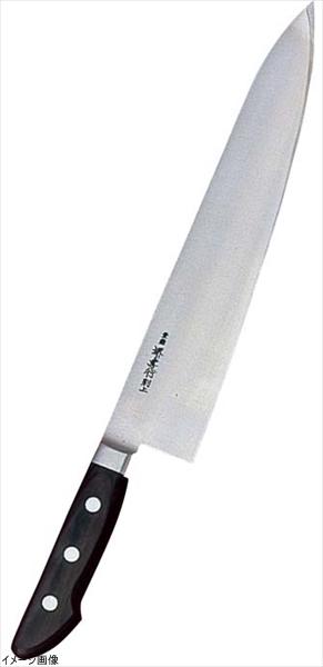 堺孝行(日本鋼・ツバ付)牛刀 33cm 15016