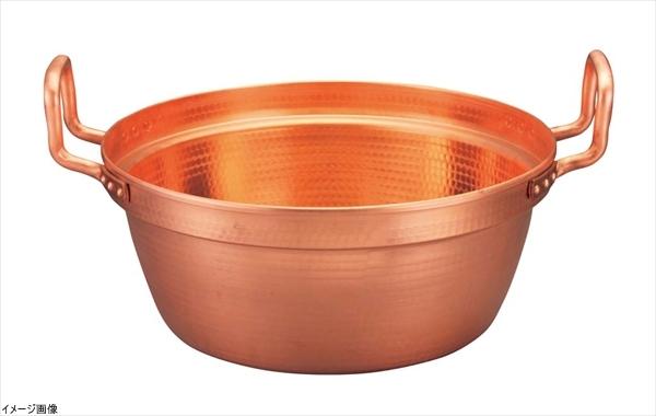 EBM 銅 段付鍋 錫引きなし 42cm