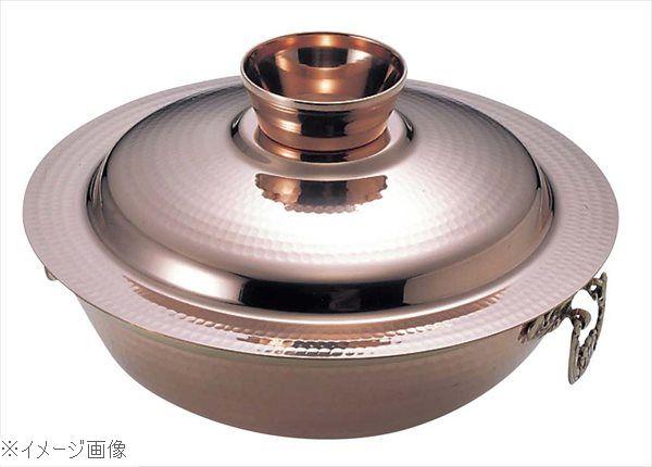 EBM 銅 槌目入 水たき鍋 24cm