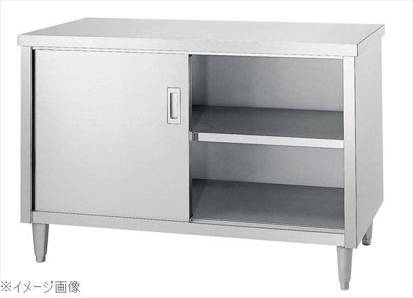 キャビネット作業台 E型(片面ステンレス戸)E-18075