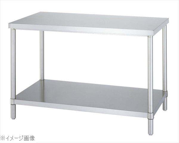 パイプ脚 作業台 ベタ棚仕様 WB-15075