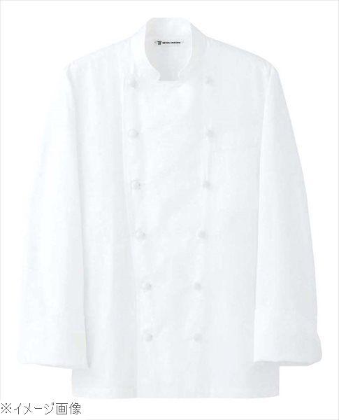 ドレスコックコート(男女兼用)AA461-3 ホワイト 3L