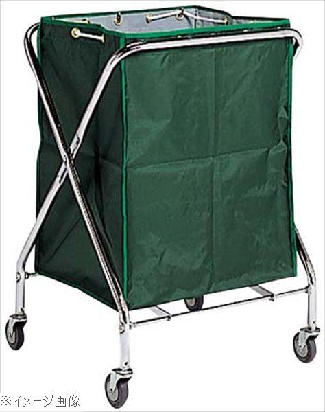 BM ダストカー 袋付(折りたたみ式)大 緑 236L