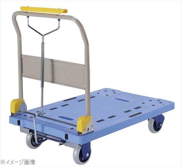 環境静音樹脂台車 ギアロック式ハンドブレーキ付 PHB-300GS