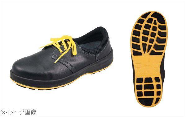 シモン 静電靴 WS11 黒 24.5cm