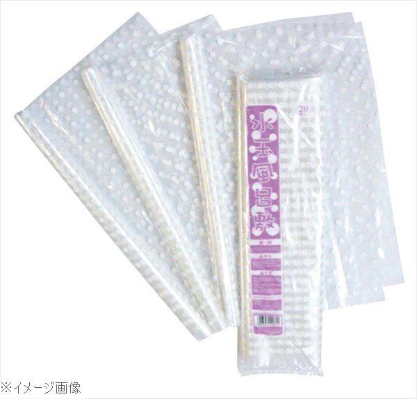 ポリ風呂敷 透明白水玉 700角(1000枚入)