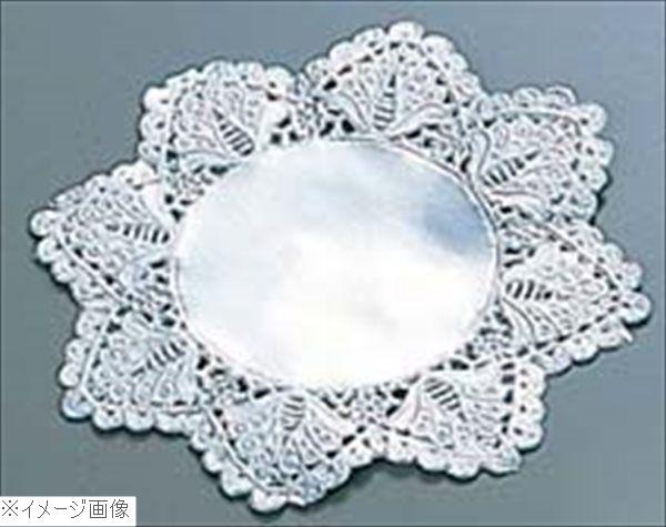 ドイリー レースペーパー 丸型 銀(500枚入)15号