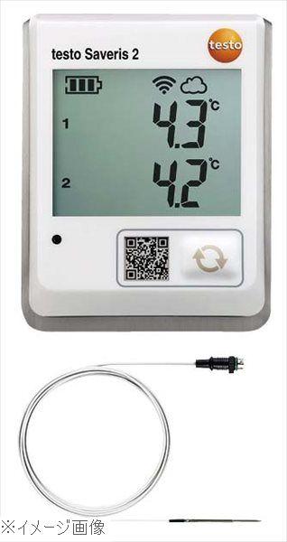 テストー Wi-Fiクラウド温度データロガー Saveris2 T2(0572 2032)外付型