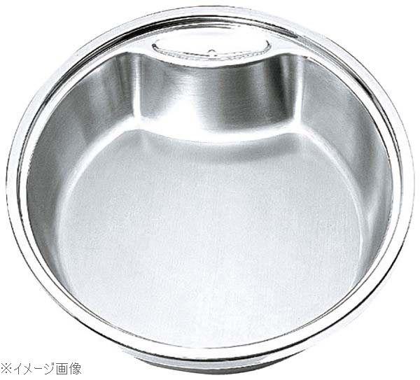 丸型・中華電磁サーバー専用ステンレスフードパン 40cm用 65-644