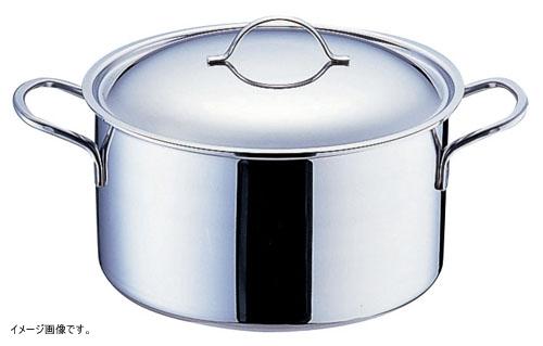 deBUYER(デ・バイヤー) プライオリティ 半寸胴鍋(蓋付)24cm 3694-24