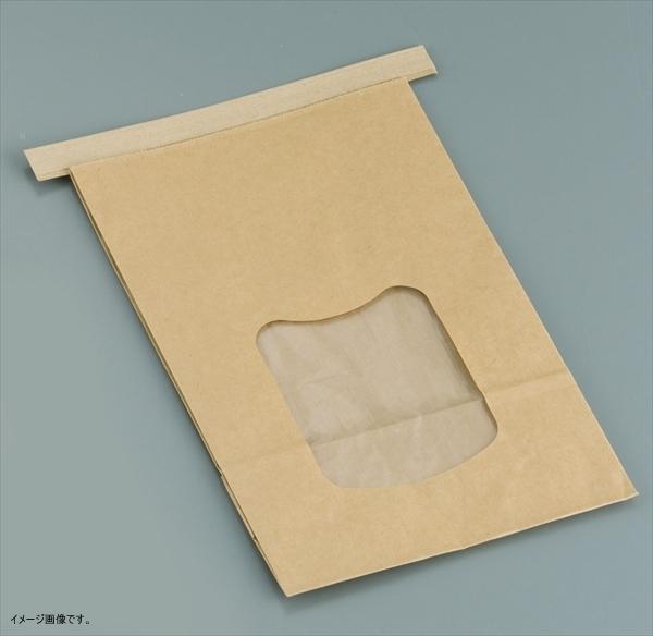 水野 【業務用】 クラフト窓付きティンタイ袋(ワイヤー付) L(400枚入) <GHK0703>