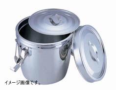 UK 18-8 フック付 ダブル食缶 10L(シリコンパッキン)