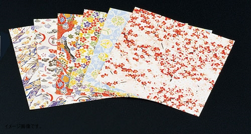 MIN(マイン ) 千代紙セット(200枚×6柄入) M33-132