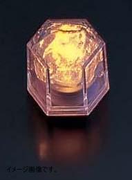 光る氷 ライトキューブ・クリスタル(24入)イエロー