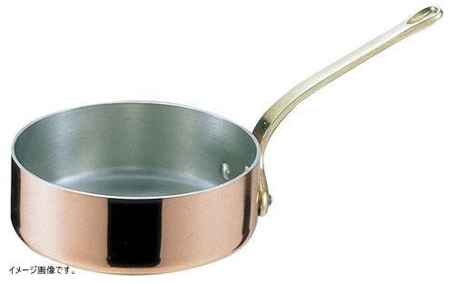 TKG エトール銅 片手浅型鍋 15cm AKT07015