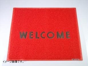 3M 文字入マット WELCOME 赤