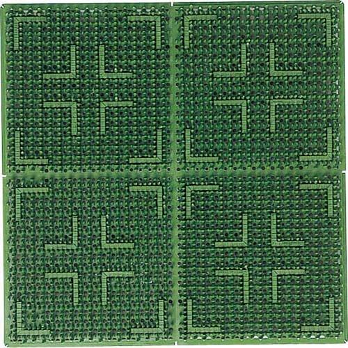 山崎産業 クロスハードマット (#15) グリーン