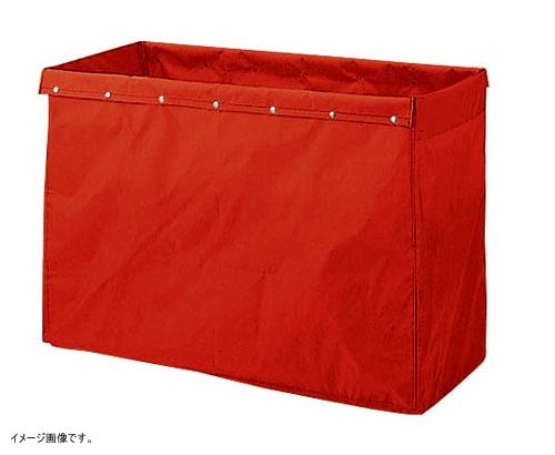 山崎産業 清掃用品 リサイクル用システムカート 360L収納袋 レッド