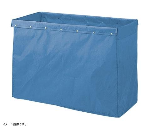 山崎産業 清掃用品 リサイクル用システムカート 360L収納袋 ブルー