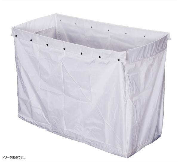 山崎産業 清掃用品 リサイクル用システムカート 360L収納袋 ホワイト