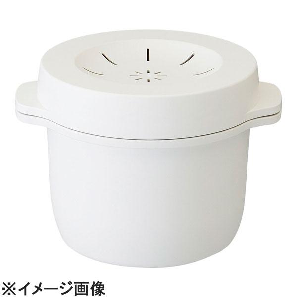 スケーター お買得 電子レンジスチームご飯メーカー ホワイト AGV0702 受賞店