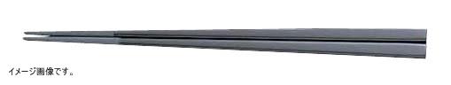 メラミンすべり止め付角箸(50膳入) 22.5cm 黒